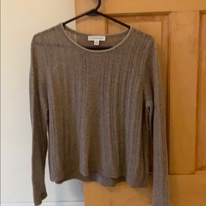 Light weight loose weave sweater